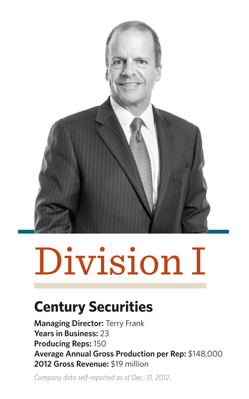 Terry Frank, Century Securities