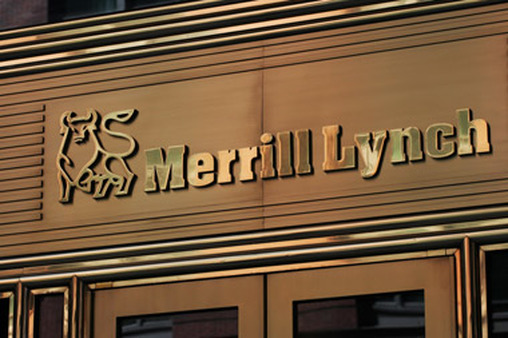A Merrill Lynch sign from 2008. (Photo: AP)
