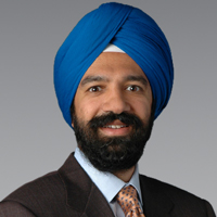 Gurinder Ahluwalia, president and chief executive of Genworth Financial Wealth Management