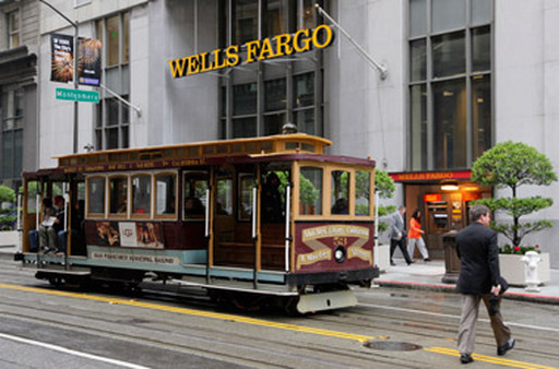 Wells Fargo headquarters in San Francisco. (Ph