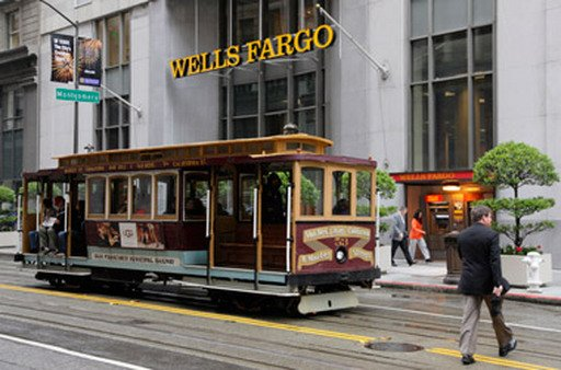 Wells Fargo headquarters in San Fra