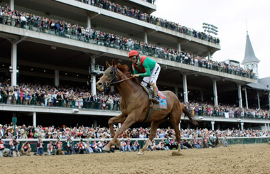 Kentucky Derby at Churchill Downs. (Photo: AP)