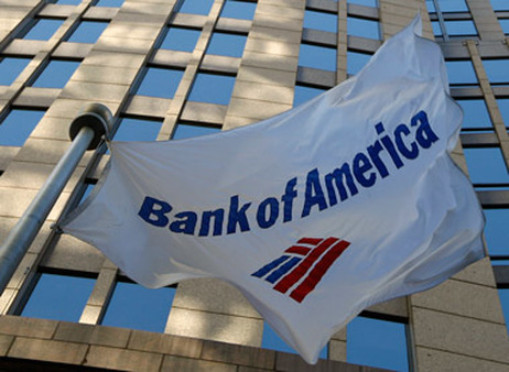 Bank of America flag. (Photo: AP)