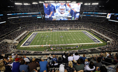 The Cowboys Stadium in Dallas. (Photo: AP)