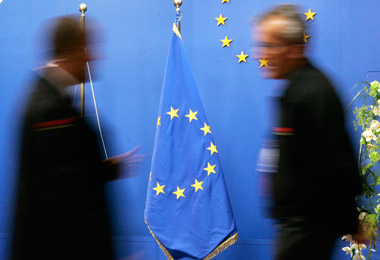 European Union flags (Photo: AP)