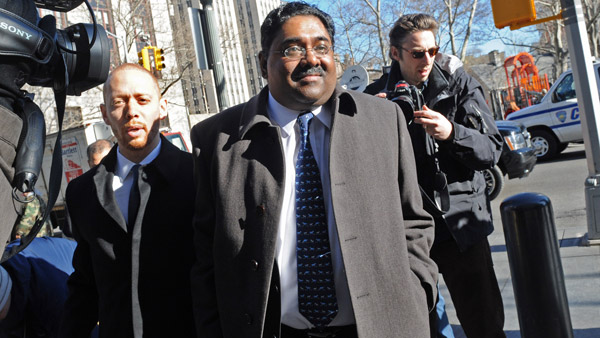 Raj Rajaratnam, the billionaire founder of the hedge fund Galleon Group, going to court in January. (Photo: AP)