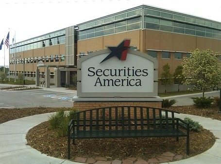 Securites America headquarters in LaVista, Neb.