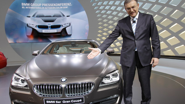 CEO Norbert Reithofer of BMW. (Photo: AP)