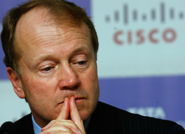 CEO John Chambers of Cisco (Photo: AP)