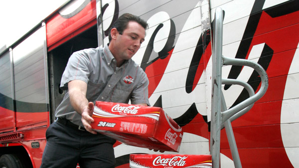 Coca-Cola delivery in Sacramento, Calif. (Photo: AP)