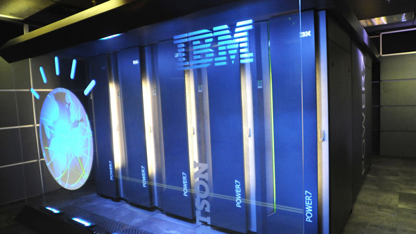 IBM's supercomputer, Watson. (Photo: AP)