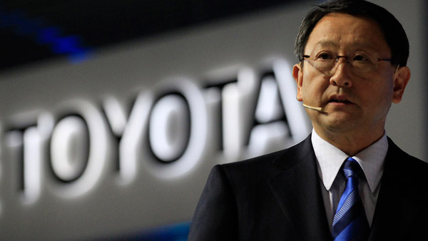 Akio Toyoda, president and CEO of Toyota Motor (Photo: AP)