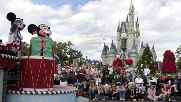 Disney World in Orlando. (Photo: AP)