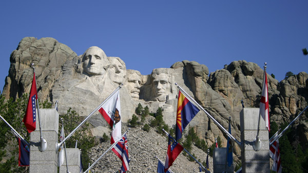 Mount Rushmore in Keystone, S.D.