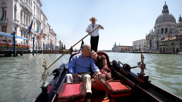 On canals of Venice.