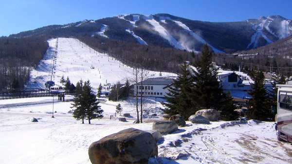 Ski resort in Killington, Vermont.