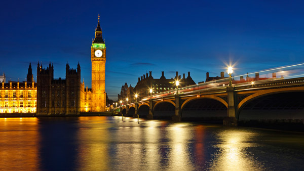 London's Big Ben and Westminister.