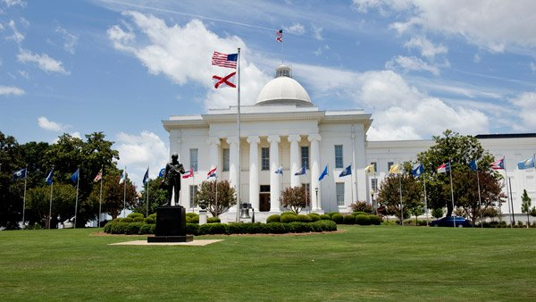 Alabama State Capital Building.