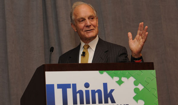Charlie Ellis at the Think Retirement Income conference. (Photo: Charles Sternaimolo)