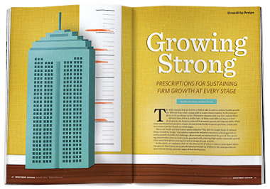 Growing Strong: The 2012 Growth by Design Study