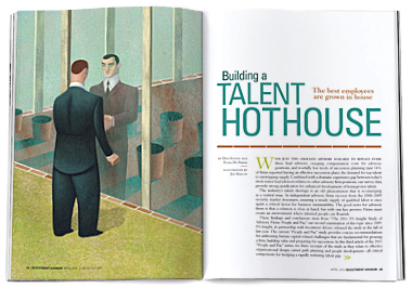 Building a Talent Hothouse: The 2011 People and Pay Study
