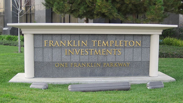 Franklin Templeton Investments headquarters in San Mateo, California.