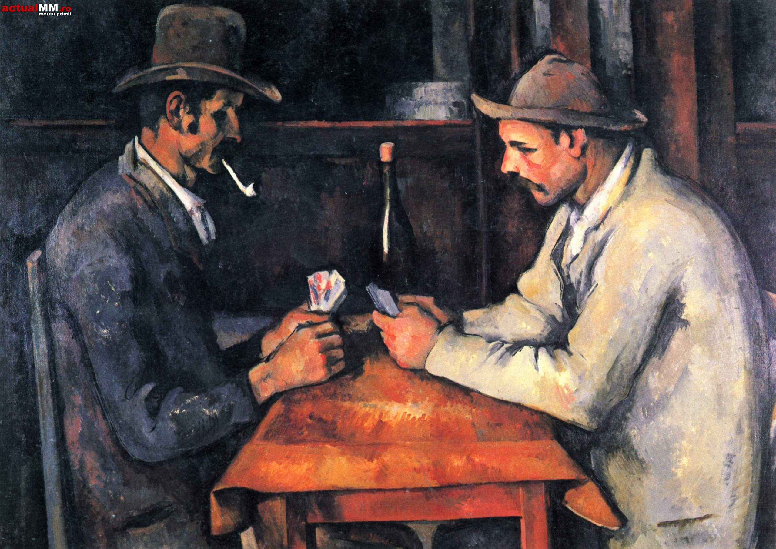The Card Players (Paul Cezanne, 1892-3)
