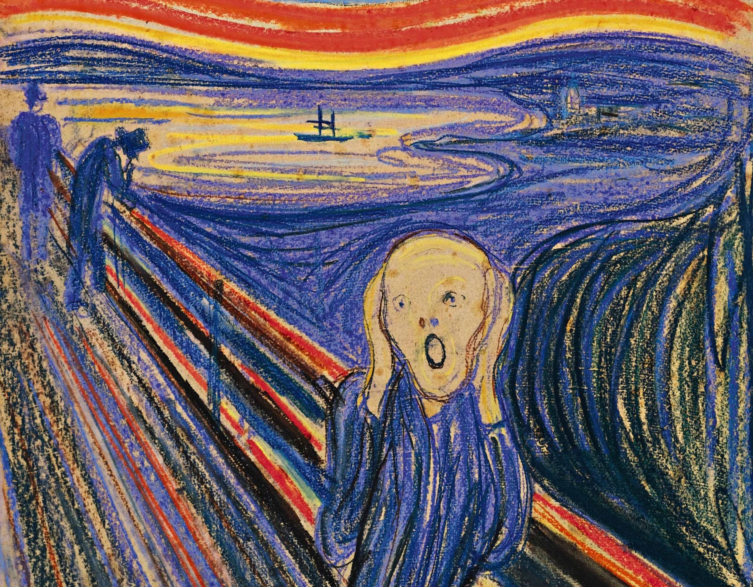The Scream (Edward Munch, 1895)