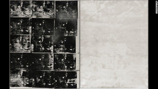 Silver Car Crash (Double Disaster) (Andy Warhol, 1963)