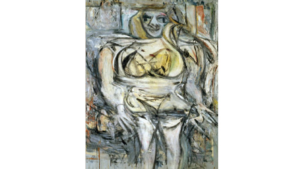 Woman III (William de Kooning, 1953)