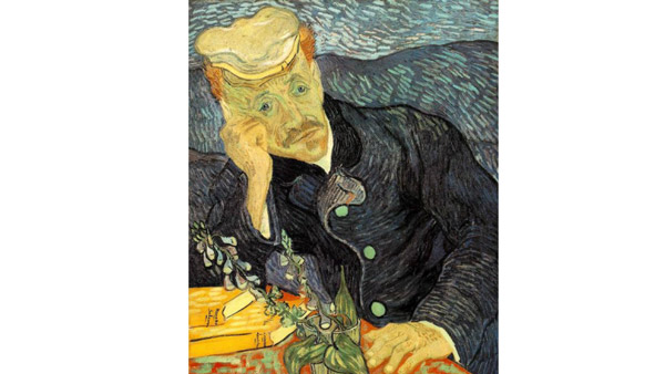 Portrait of Dr. Gachet (Vincent van Gogh, 1890)
