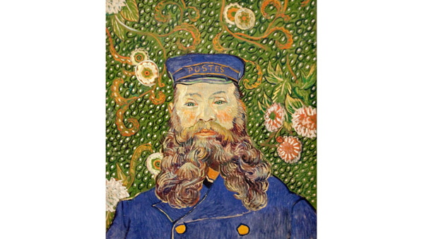 Portrait of Joseph Roulin (Vincent van Gogh, 1889)