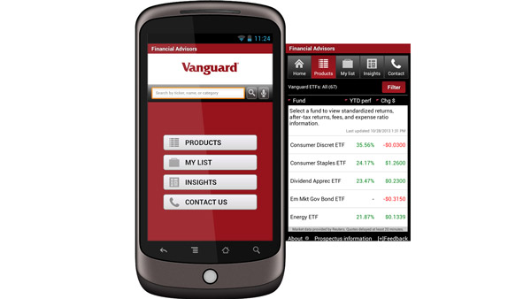 Vanguard for Advisors app