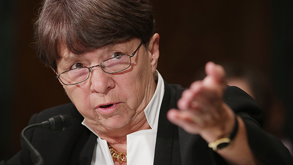 SEC Chairwoman Mary Jo White. (Photo: Getty Images)