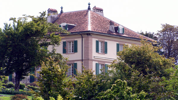 A mansion on Chemin de Ruth in Geneva. (Photo: Wikimedia Commons)