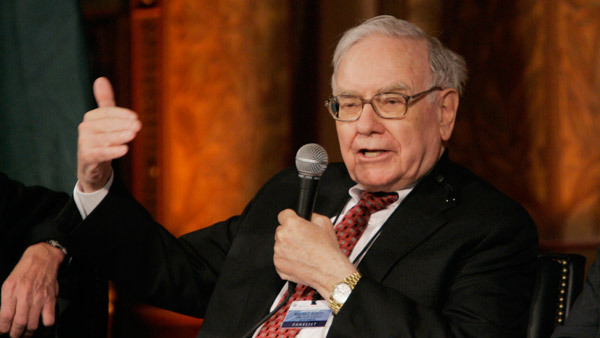 Berkshire Hathaway Chairman Warren Buffett. (Photo: AP)