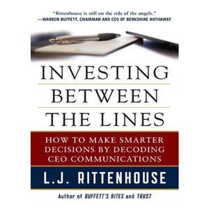 Investing Between the Lines by Laura Rittenhouse