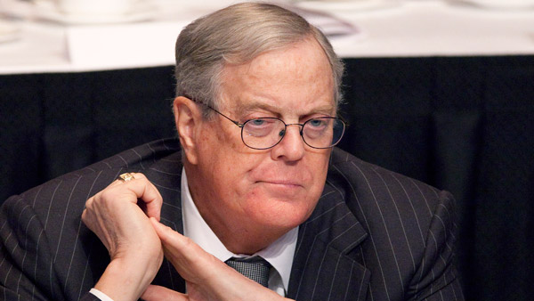 David Koch. (Photo: AP)
