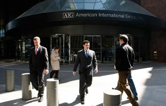 AIG building in New York. (Photo: AP)