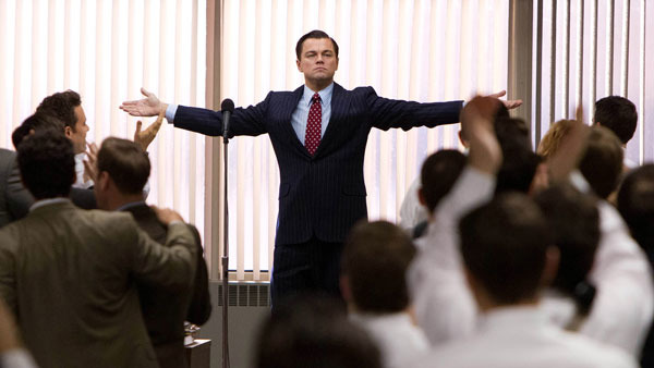 "Leonardo DiCaprio in ""The Wolf of Wall Street."" (Photo: AP)"