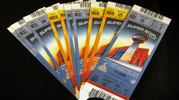 $1,300: Fans wanting to buy a ticket to the Super Bowl better be ready to shell out big bucks. (Photo: AP)