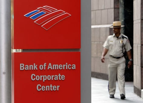 Bank of America sign. (Photo: AP)