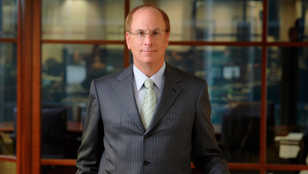 Larry Fink, CEO and Chairman of BlackRock Financial Management Inc.