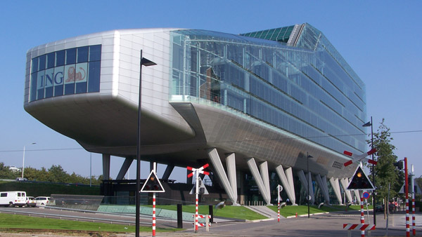ING Corporate Headquarters in Amsterdam. (Photo: Wikimedia Commons)