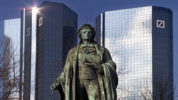 Deutsche Bank headquarters in Frankfurt, Germany. (Photo:AP)