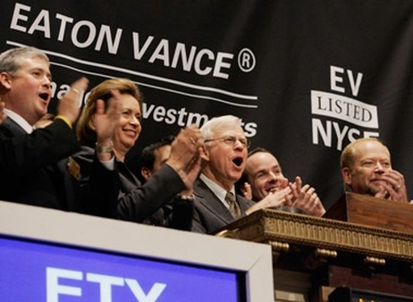 Eaton Vance at the New York Stock Exchange. (Photo: AP)
