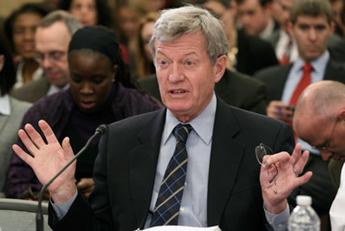 Former Senate Finance Chairman Max Baucus. (Photo: AP)