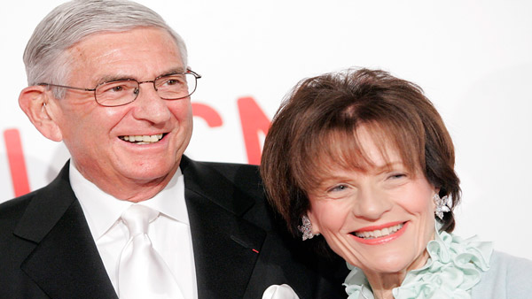 Eli and Edythe Broad (Photo: AP)