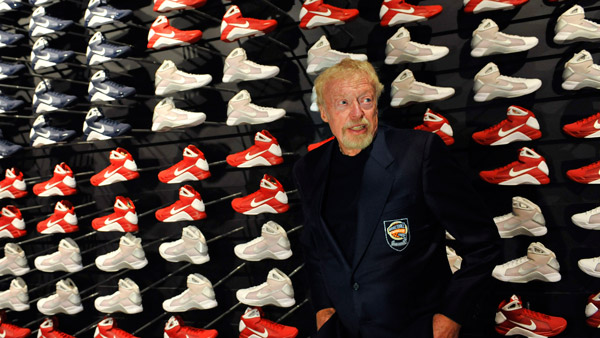 Phil Knight, co-founder and the chairman of Nike. (Photo: AP)