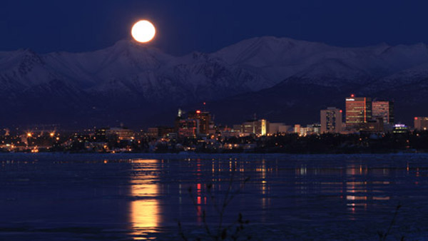 Anchorage, Alaska Skyline (Photo: AP)